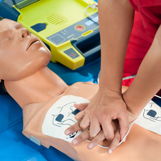 Basic Life Support and Safe Use of an Automated External Defibrillator Defibrillator AED CPR (RQF) Training Courses, Brighton Holistics Qualsafe